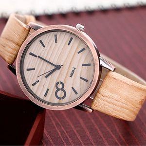 Unisex hodinky s dřevěným motivem - varianta 1 - dodání do 2 dnů