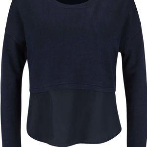Tmavě modrý top s dlouhým rukávem Vero Moda Glory
