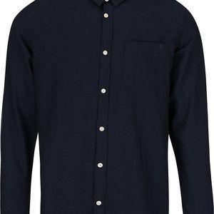Tmavě modrá slim košile Jack & Jones Glit