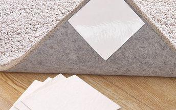 Protiskluzové nálepky pod rohožky a koberečky