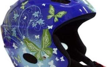 WORKER Meribel modrá 50 - 52 cm lyžařská přilba