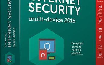 Kaspersky Internet-Security multi-device 2017 CZ pro 2 zařízení na 24 měsíců, nová licence - KL1941XCBDS