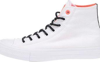 Bílé unisex kotníkové tenisky Converse Chuck Taylor All Star II