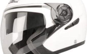 W-TEC NK-617 bílá vel. XL Otevřená helma