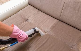 Profesionální čištění koberců do 35 m2 nebo sedacích souprav do 5 míst u vás doma