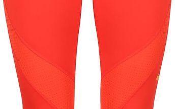 Červené dámské 3/4 legíny Nike Pro Hypercool