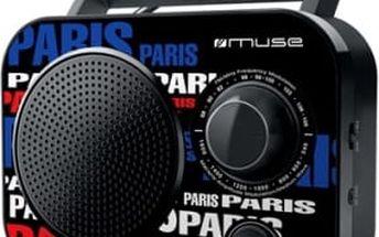 Radiopřijímač MUSE M-060 PA