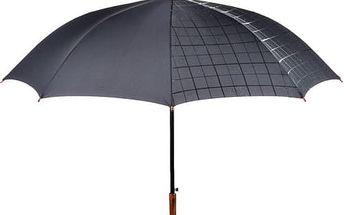 Fare Kouzelný holový vystřelovací deštník Wetlook Black 7232