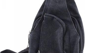 Pánská taška přes rameno - černá barva - dodání do 2 dnů