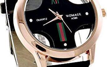 Unisex hodinky s otevřeným ciferníkem - 3 barvy - dodání do 2 dnů