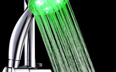 Hlavice na sprchu měnící barvy
