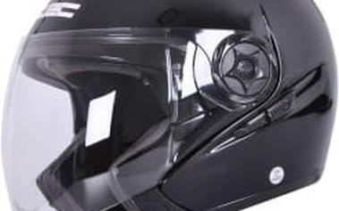 W-TEC NK-617 černá lesk vel. XL Otevřená helma
