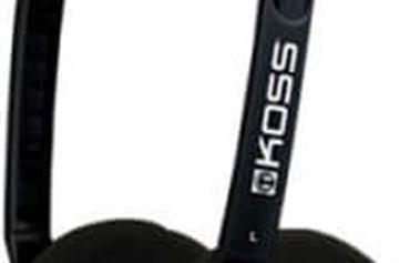 Sluchátka Koss KPH/25 (dvouletá záruka) černá