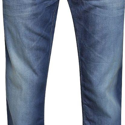 Modré rovné džíny Blend