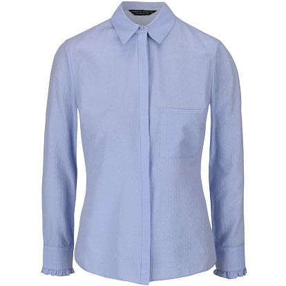 Světle modrá vzorovaná košile Dorothy Perkins