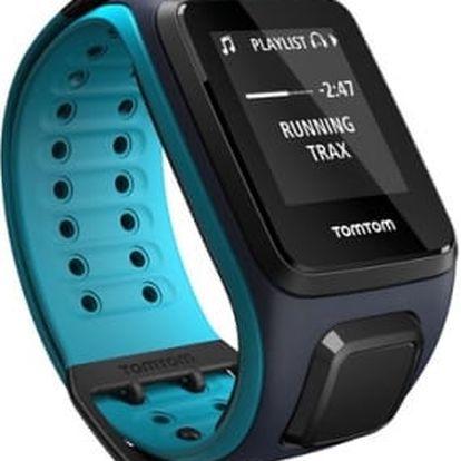 GPS hodinky Tomtom 2 Music (L) (1REM.001.01) modré