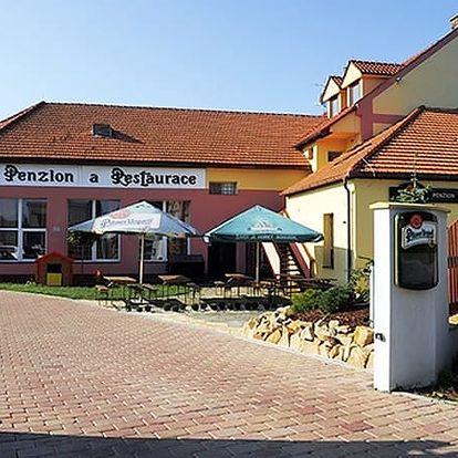 Romantický pobyt pro dva v Penzionu Zlobice s degustací vína, relax ve wellness, relaxační zábal.