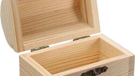Šperkovnice dřevěná v jednoduchém stylu