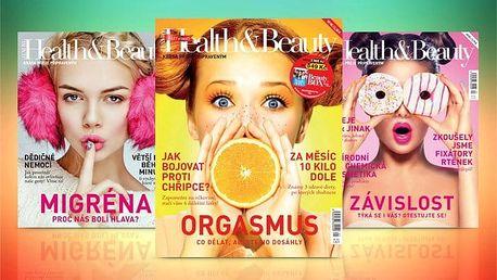 Roční předplatné časopisu Health&Beauty – 4 tištěná čísla