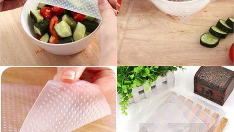 Silikonové víčko na nádoby Stretch and fresh