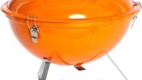 Gril Happy Green PICNIC 5022014EDO oranžový