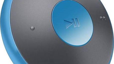 MP3 přehrávač Philips SA5DOT02BN černý/modrý