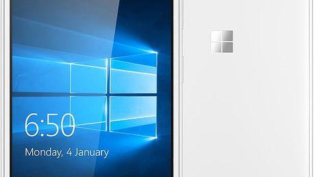 Microsoft Lumia 650, bílá - A00026947 + Zdarma CulCharge MicroUSB kabel - přívěsek (v ceně 249,-)