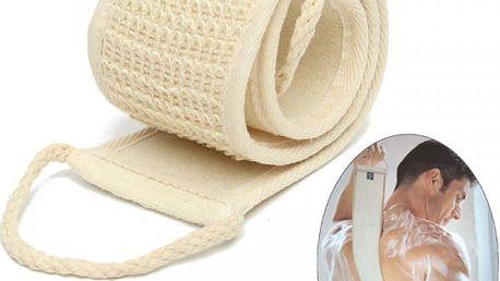 Masážní a mycí pás - přírodní materiál