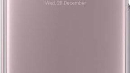 Pouzdro na mobil flipové Samsung Clear View pro Galaxy A5 2017 (EF-ZA520C) (EF-ZA520CPEGWW) růžové
