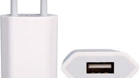Nabíječka do sítě Apple A1400 - bulk (A1400) bílá