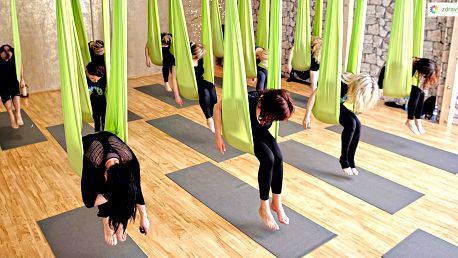Povzneste tělo i mysl: 5 lekcí AntiGravity® jógy