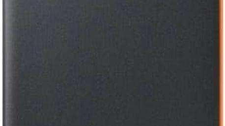 Pouzdro na mobil flipové Samsung Neon Flip pro Galaxy A5 2017 (EF-FA520P) (EF-FA520PBEGWW) černé