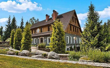 3–6denní pobyt s polopenzí a saunou pro 2 osoby v hotelu Perla Jizery v Jizerkách