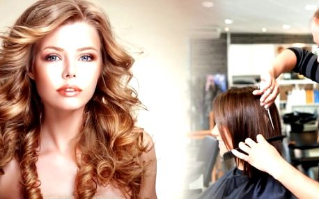 Kadeřnické balíčky pro krátké i dlouhé vlasy: střih, barva nebo melír, arganový zábal a masáž hlavy.