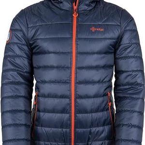 Pánská zimní prošívaná bunda KILPI FITZROY-M Tmavě modrá L