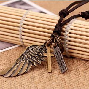 Stylový pánský náhrdelník Wings