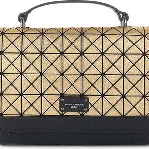 Vzorovaná crossbody kabelka ve zlaté barvě Paul's Boutique Nicole