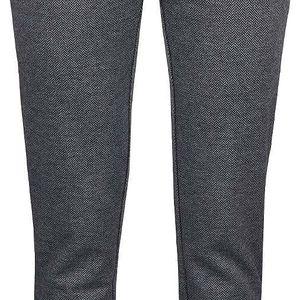 Šedé vzorované kalhoty VILA Pinny