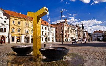 2 nebo 3denní pobyt pro 2 osoby se snídaněmi v Plzni v pensionu Villa Rokycanská