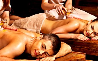 Hodinová romantická thajská masáž pro dva