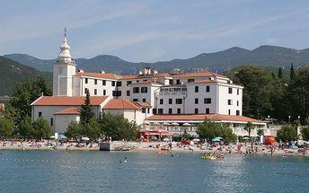 Chorvatsko - Crikvenica na 8 až 10 dní, polopenze s dopravou autobusem nebo vlastní