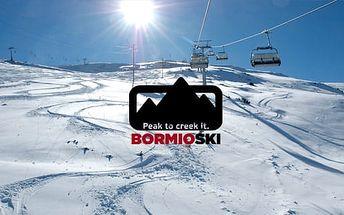 Bormio ski*** | 5–6denní lyžařské balíčky | Různé hotely | Doprava + Ubytování + Polopenze + Skipas