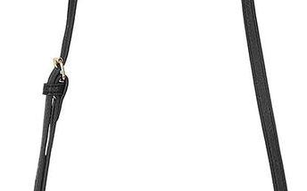 Černá crossbody kabelka s modrým vzorem Paul's Boutique Veronica