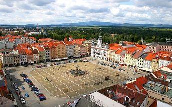 3–6denní pobyt pro 2 v penzionu 4 Dvory v Českých Budějovicích