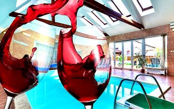 3–6denní pobyt pro 2 v penzionu Vinařský dvůr ve Valticích se snídaněmi a saunou