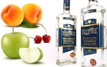 Balení 2 nebo 6 kusů ovocných destilátů RIPER® dle výběru