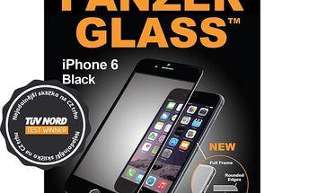 PanzerGlass ochranné sklo na displej pro Apple iPhone 6+ Premium, černá - 1004