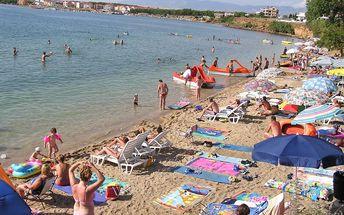 Chorvatsko: Povljana, ostrov Pag na 8 dní pro 1 osobu v mobilhome s plnou penzí, možnost busu