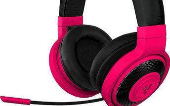 Razer Kraken Pro Neon, červená - RZ04-00871200-R3M1