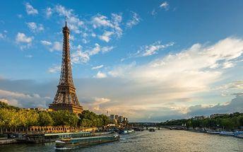 Francie: kouzelná Paříž ve 4 dnech. Zájezd z Prahy pro 1 osobu včetně 1 noci se snídaní